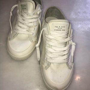 Rag and Bone white sneakers